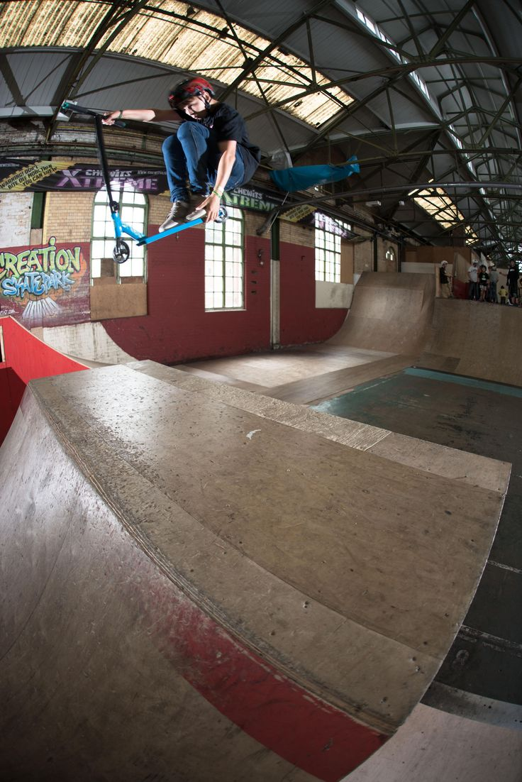 Jacques Honour - T-Bog at creation skatepark