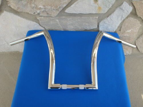 "#harley 16"" CHROME DNA MONSTER APE HANGER BARS CHUBBY 1-1/2"" HARLEY HANDLEBARS please retweet"