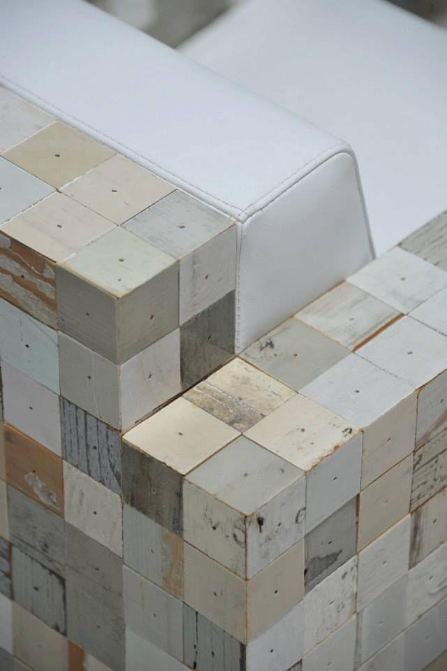 les nouveautés en bois de récup' du néerlandais Piet Hein Eek