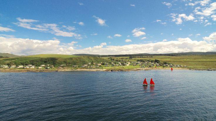 Port Ban Holiday Park, Tarbert, Argyll, Scotland. Camping. Campsite. Outdoors. Coast. Holiday. Travel.
