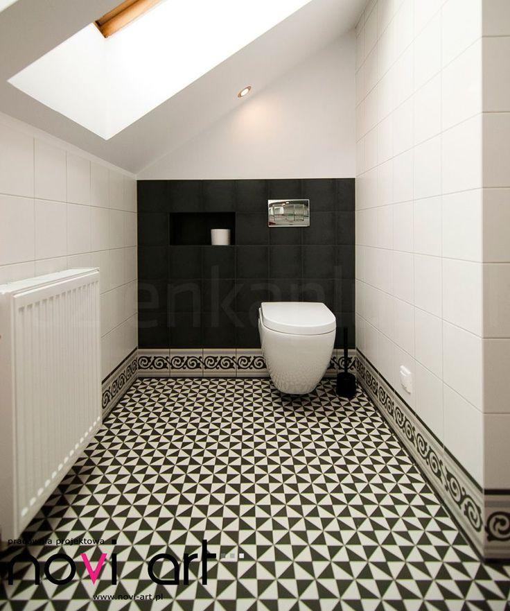 Mała, biała łazienka na poddaszu. Problematyczne zestawienie? Niekoniecznie! :)  https://www.facebook.com/lazienkaplus