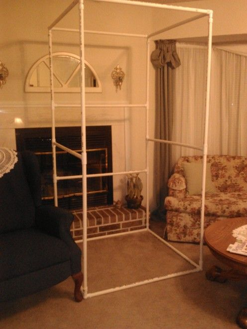 1000 ideas about portable dressing room on pinterest for Pvc pipe dressing room