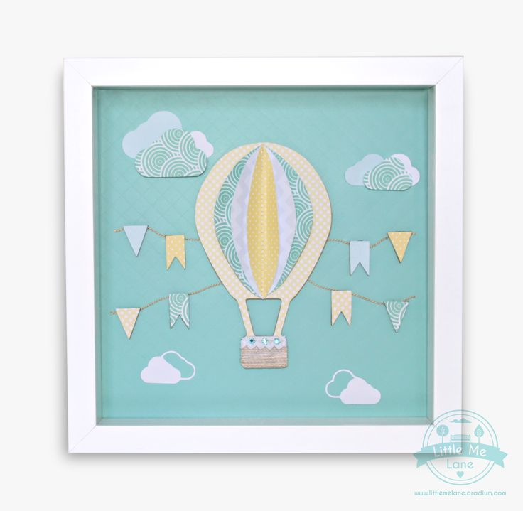 Hot Air Balloon Wall Art - To purchase please visit out facebook store https://aradium.com/68g52