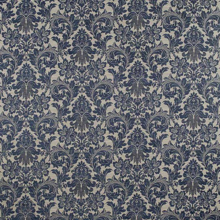 Warwick Fabrics : HEYGATE, Colour DENIM