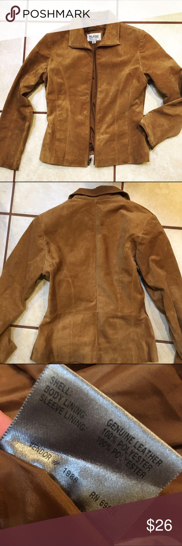1 HOUR SALE Wilson Leather Maxima Jacket Small Wilsons