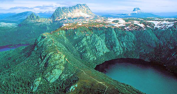 Cradle Mountain is a must-see iconic Tasmanian landmark. Hope you're not afraid of heights!