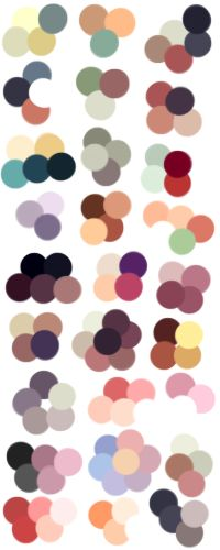 Random Color Palettes 6 by Sebbins on DeviantArt
