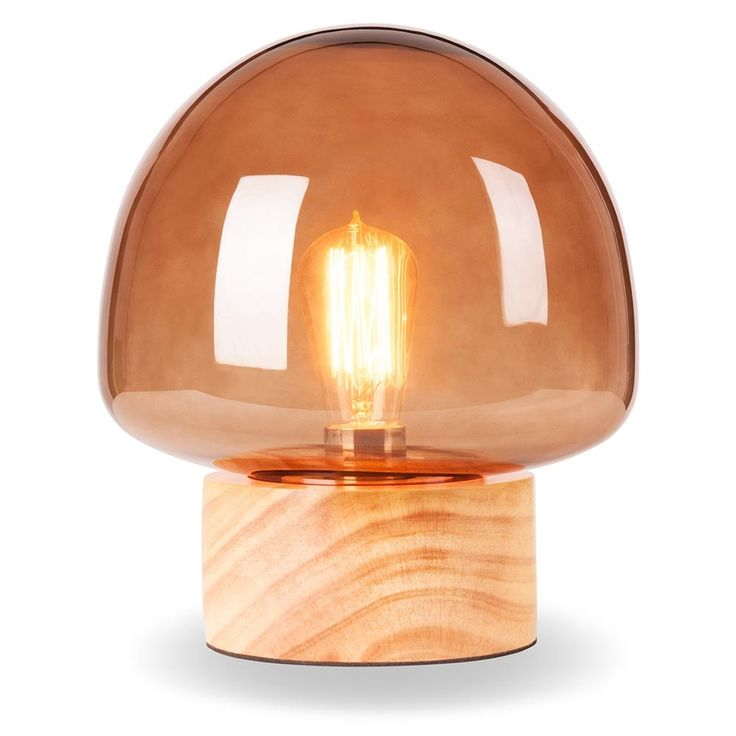 Cult Living Forest Mushroom Globe Table Lamp   Love The Coffee Or Green!