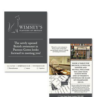 Wimsey's Branding