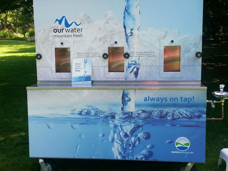 Metro Vancouver kept visitors refreshed at EPIC with a water wagon!