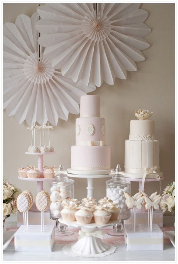 Pink  Cream Dessert Bar // http://reveriemag.com
