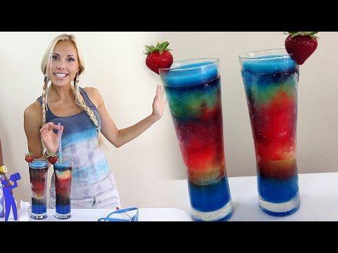 Drunken Vodka Popsicle Slushie - Tipsy Bartender - YouTube