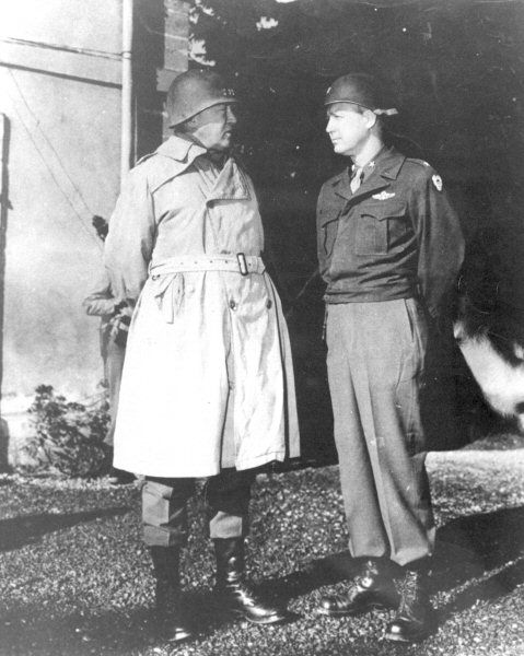 George S. Patton was one of the finest generals to ever lead men into battle and a true American Hero.  The following page is a collection of information, pictures, books, and products honoring this great warrior.