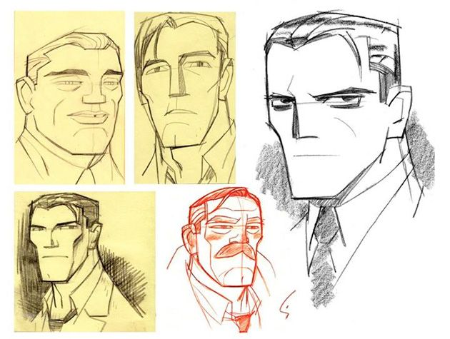 Shane Glines Hits All The Right Angles With 'Beware the Batman' Character Designs [Art]