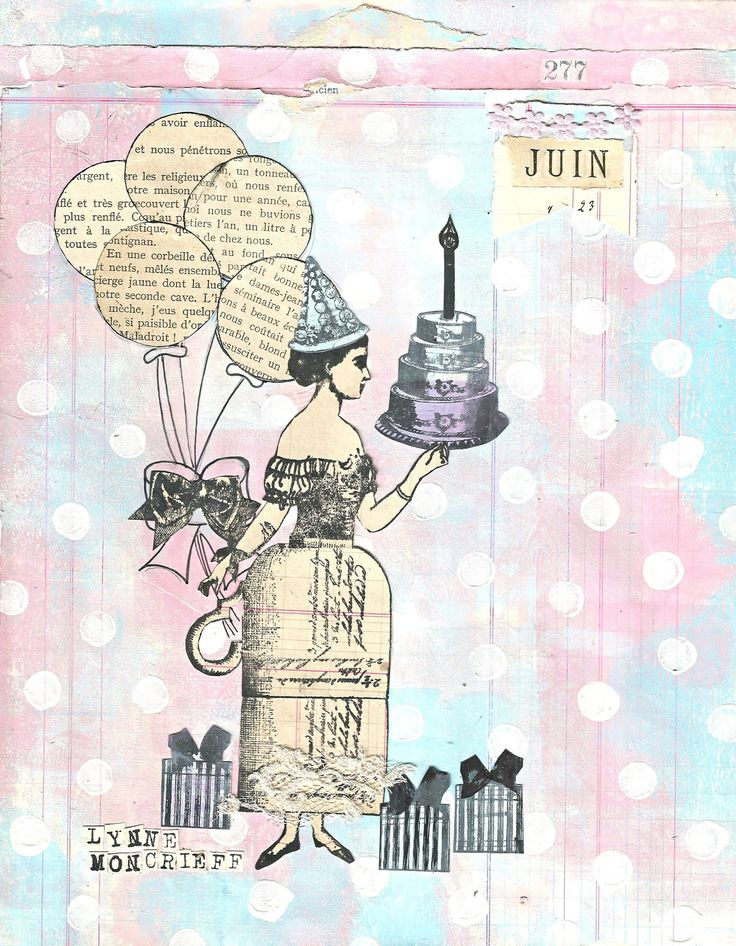 Character Constructions 2018 Planner, June by Lynne Moncrieff