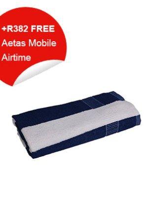 Guest Towel (Blue & White)