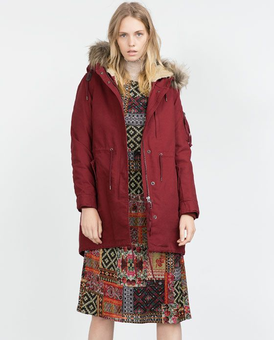 Image 4 of COTTON PARKA from Zara