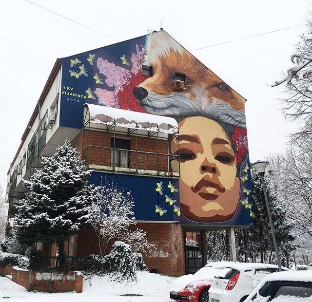 """""""Runaway"""" by Andrej Josifovski + TKV in Zemun, Serbia, 1/17 (LP)"""