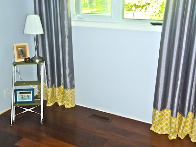 """DIY curtain """"extensions"""" on cheap curtains"""