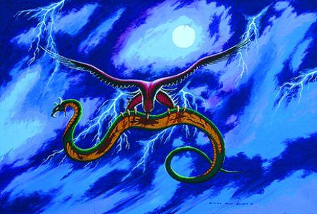 Carl Ray Thunderbird and Serpent kp
