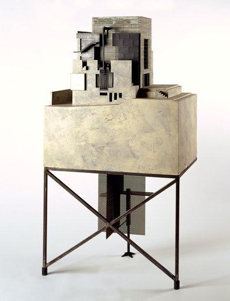 Morphosis Model Bjorn Buckley: Morphosis, Sixth Street Model, 1988