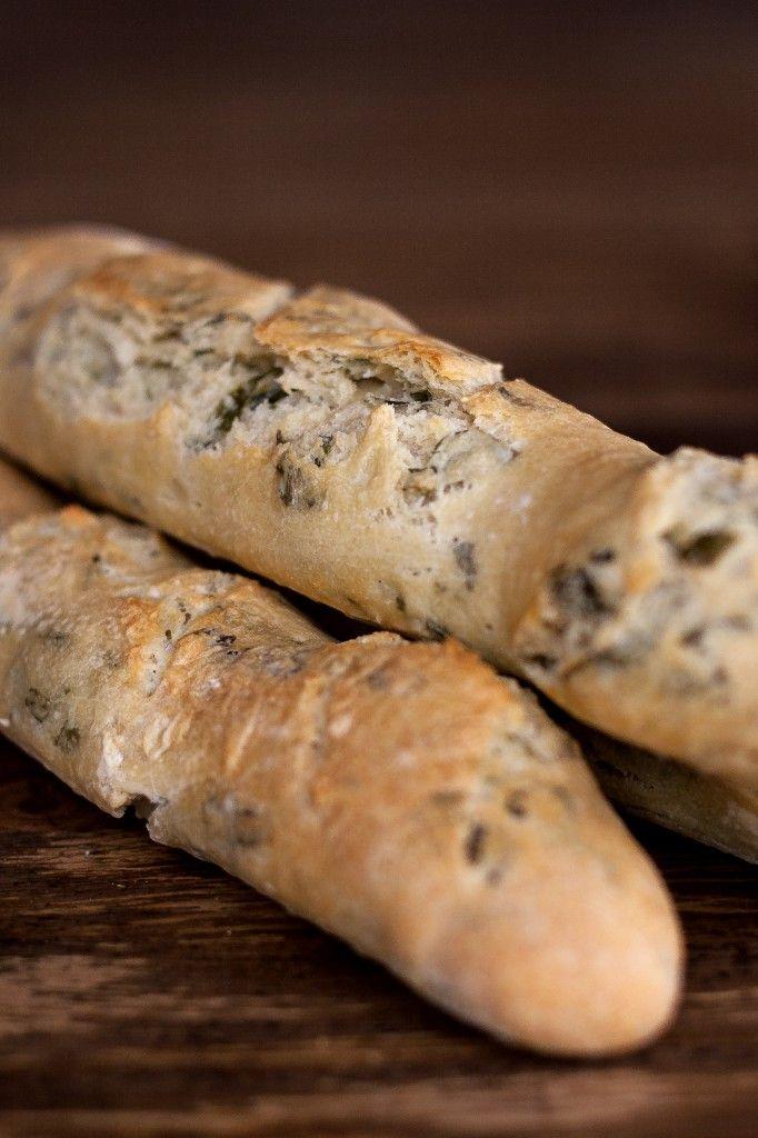 Bärlauch-Baguettes | Wild garlic baguettes
