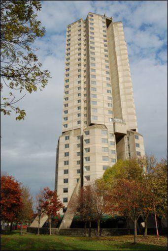 Derwent Tower. Poor Owen Luder.