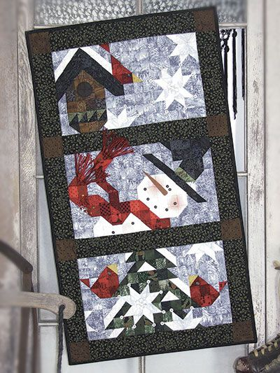 For the Birds Low-Sew Quilt Pattern