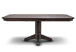 Rectangular pedestal table ideas for vince pinterest - Rectangular pedestal kitchen table ...