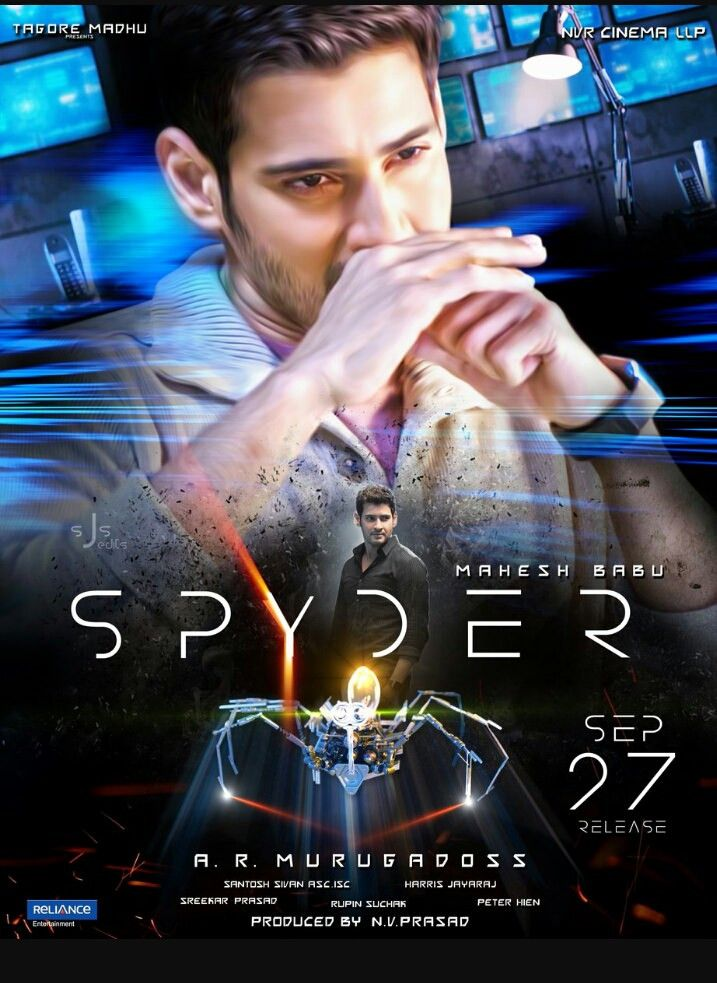 Spyder (2017) Dual Audio 720p UNCUT HDRip Hindi