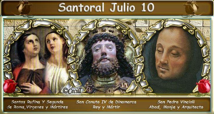 Vidas Santas: Santoral Julio 10