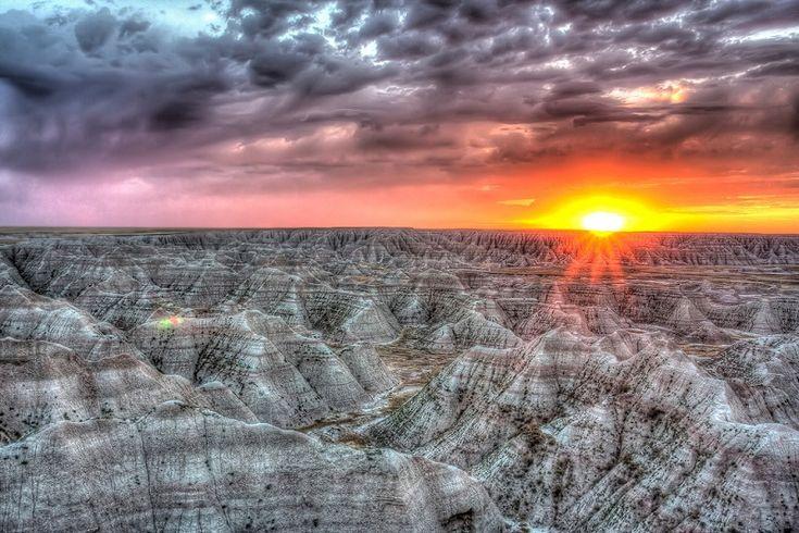 Badlands Ulusal Parkı, Güney Dakota