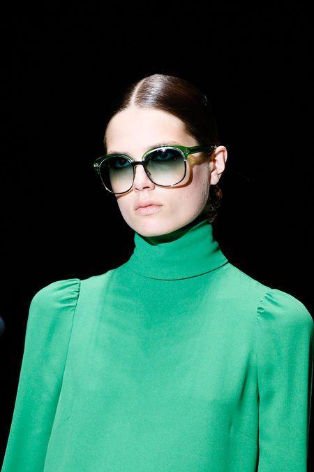 Gucci SS 2013 #fashion #style: Shades, Colors Patterns, Gucci Spring, Style, Gucci Sunglasses, Spring Summer, Milan Fashion Week, Fashion Trends, Ray Ban Sunglasses