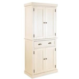 Home Styles Nantucket Pantry in Distressed White 5022-69 at The Home Depot - Mobile