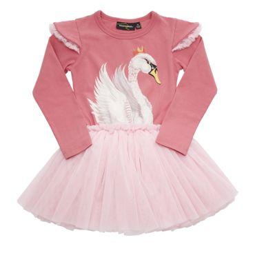 Swan Lake Circus Dress Pink Rock Your Baby