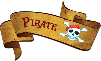 "Affiches THEME ""LES PIRATES"" - 1 et 2 et 3 DOUDOUS * PATRONS* PATTERNS * GABARITS FETE A THEMES POUR ENFANTS"