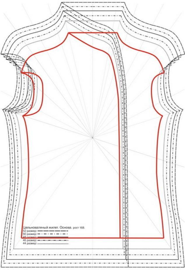 Скелет для идеальной выкройки - Ярмарка Мастеров - ручная работа, handmade