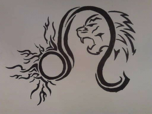 tribal leo sign tattoos - Yahoo Image Search Results