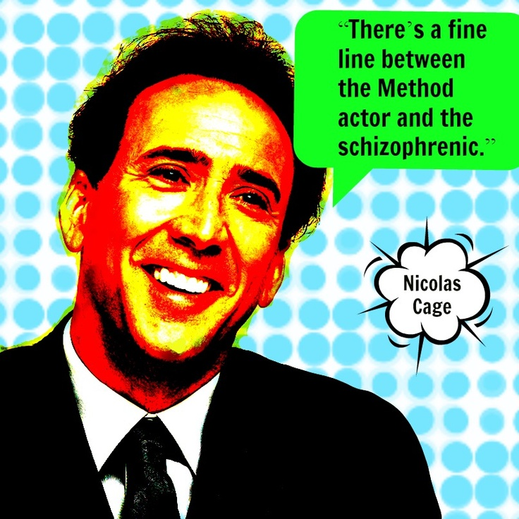Nicolas Cage  - Movie Actor Quote -  Film Actor Quote    #nicolascage