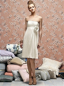 1000  images about White/Ivory Bridesmaid Dresses on Pinterest ...