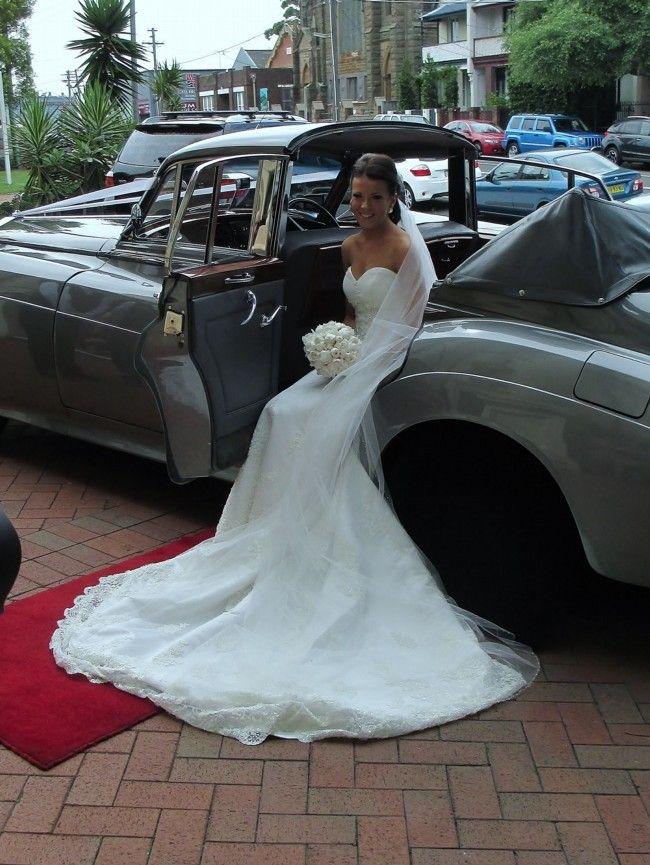 Maggie Sottero Maggie Sottero Designer Couture Swarovski crystal Size 8 Second Hand Wedding Dress   Still White Australia