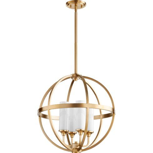 Highline 4 light globe pendant