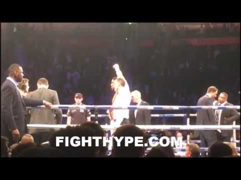 ANTHONY JOSHUA IMMEDIATELY AFTER 3RD ROUND KNOCKOUT OF ERIC MOLINA; FANS REACT - http://www.truesportsfan.com/anthony-joshua-immediately-after-3rd-round-knockout-of-eric-molina-fans-react/