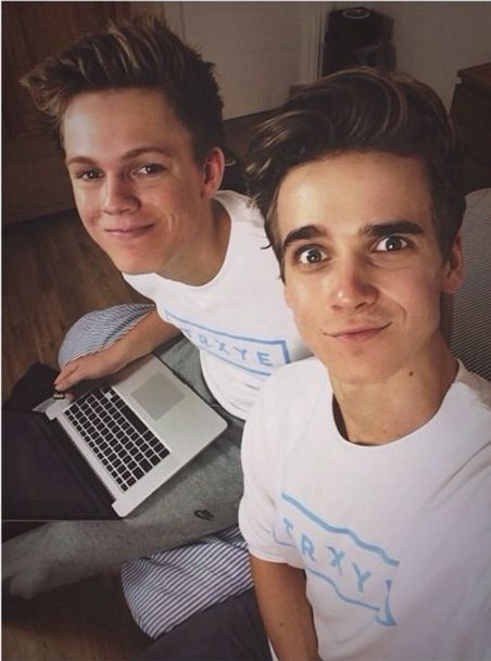 Caspar Lee & Joe Sugg /// IG picture