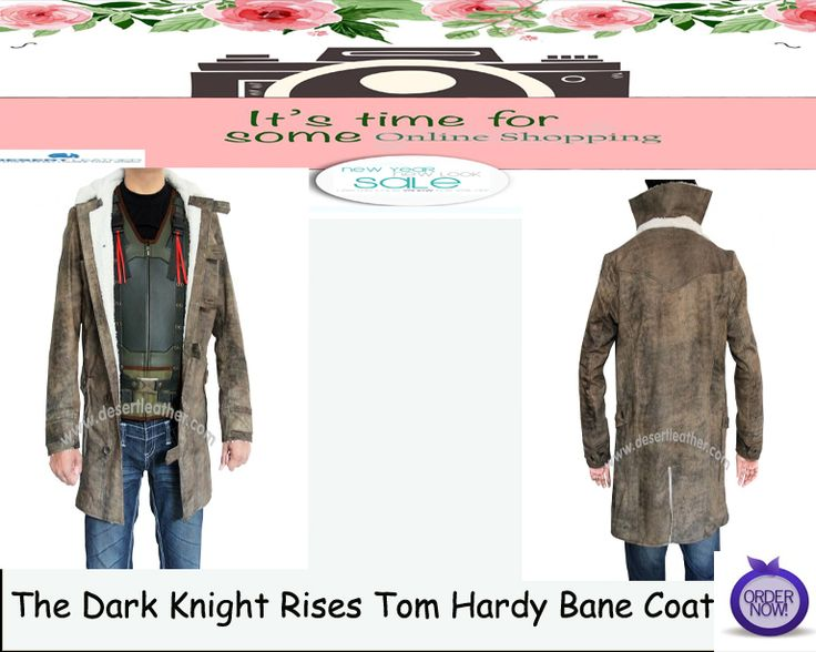 The Dark Knight Rises Tom Hardy Bane Coat A true reflection in persona enhances to wear this The Dark Knight Rises Tom Hardy Bane Coat.Buy from sale now and make it yours!! #TheDarkKnightRises #TomHardy #Bane #CoatStyle #RealLeather #MenAttire ##OnlineShopping #Onlinestore #HappyNewYearSale   #WinterSale #Fashion #NewArrival #OrderNow