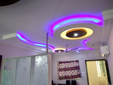 New POP false ceiling designs 2018 catalogue for living room hall - YouTube