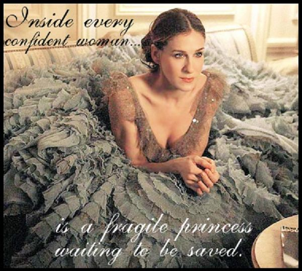 Carrie quote from Sex and the City! #quote #sexandthecity #love