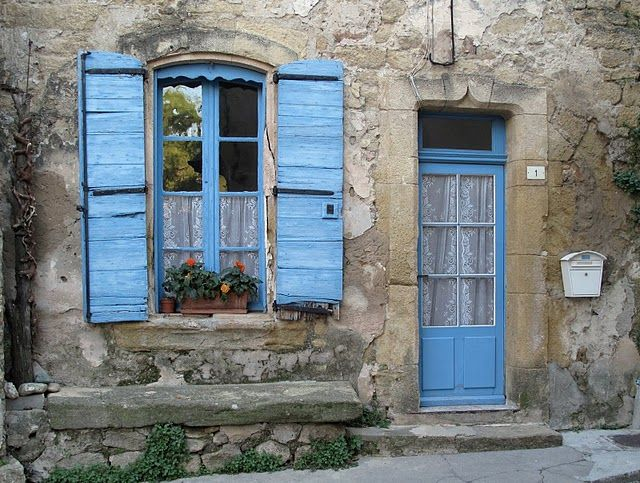 Avignon, France. The houses ALL look like this.