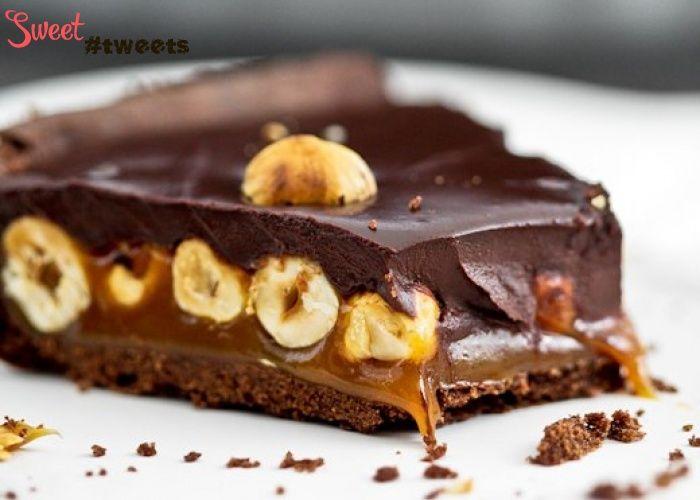 Шоколадный тарт с карамелью и лесными орехами image 1