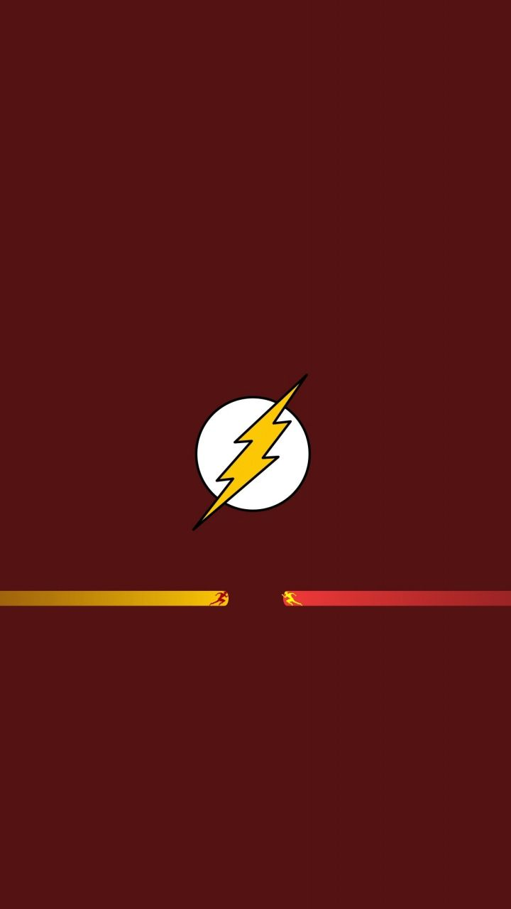 Minimal Flash Superhero The Speedster 720x1280 Wallpaper Flash Comics Flash Superhero Flash Wallpaper